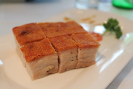 Absolutely the most delicious, melt-in-the-mouth, crispy-skinned pork dish on earth.