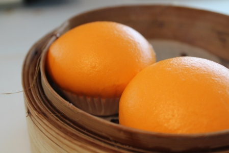 Egg custard buns.  OMG!!!
