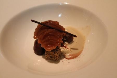 Second Dessert: Montblanc.