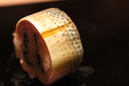 Saba and mackerel roll.