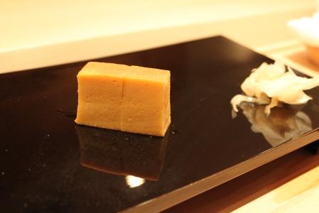 Tamago (Japanese omelette).
