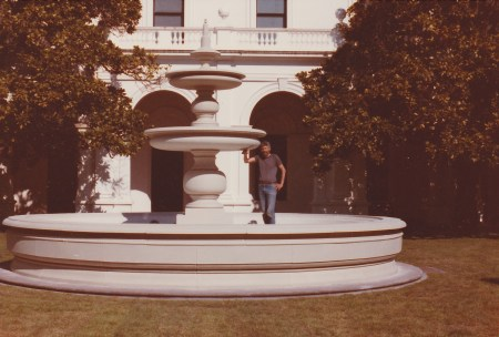 The fountain at Government House.  DAYUM!!!!  My Daddy built that!!!!