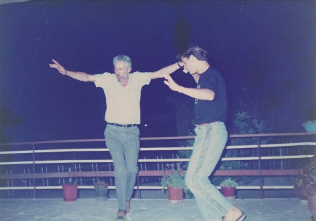 Dancing man.