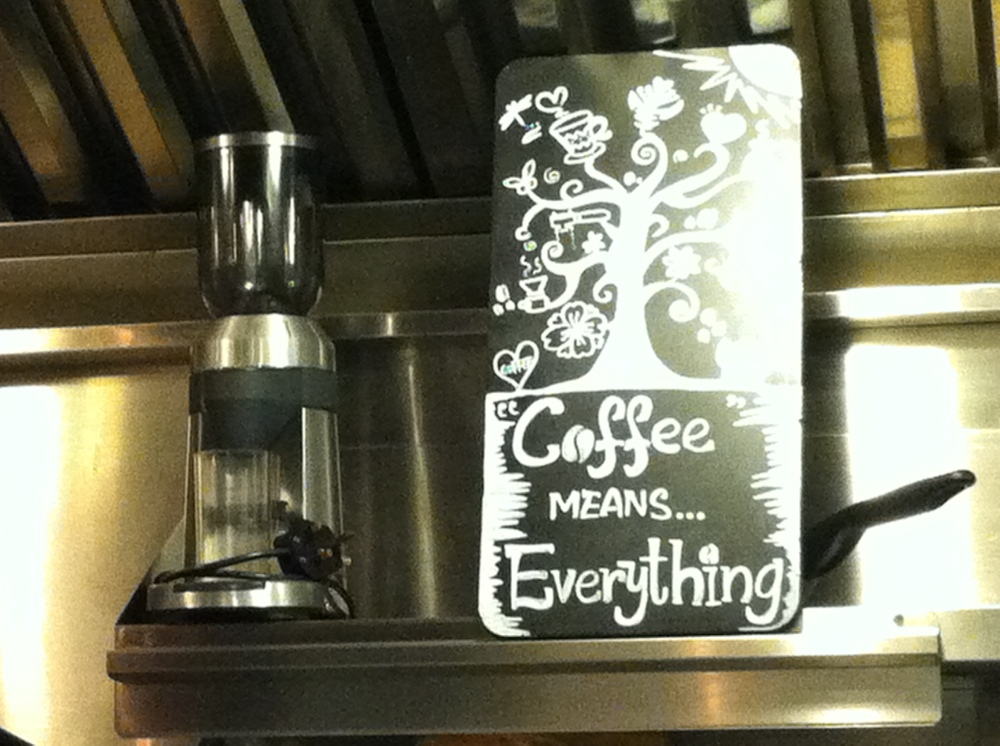 Coffee Means Everything