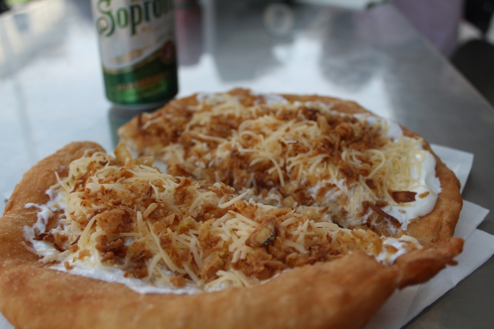 Hungarian style (plus fried, crispy onion - which I can never say not to if it's offered to me)