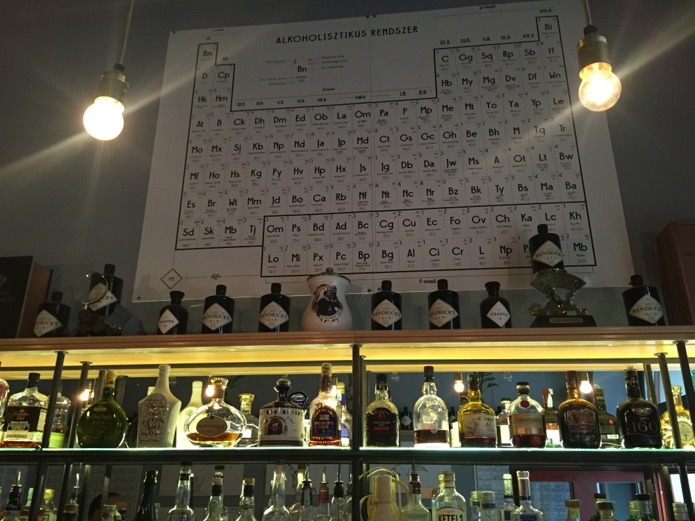 Having studied chemistry at high school and university, there is something very appealing to me about a bar that takes it's ethos from the lab.