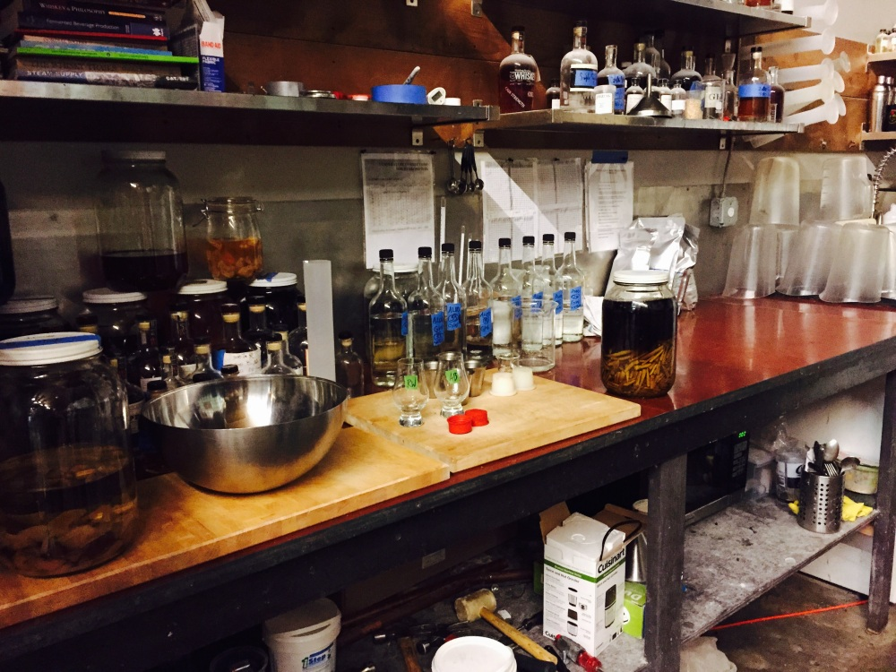 Where the infusion magic happens. All natural ingredients.