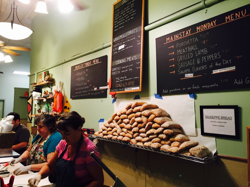 Each sandwich is hand made to order.