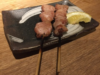Yakitori goodness.