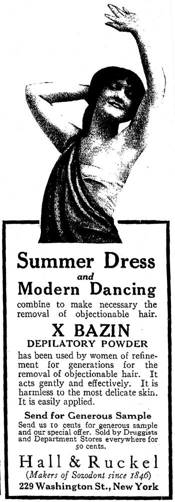 Armpit Advertisement