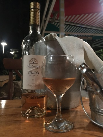 Lebanese wine is a revelation. Rosé in particular is my favourite.
