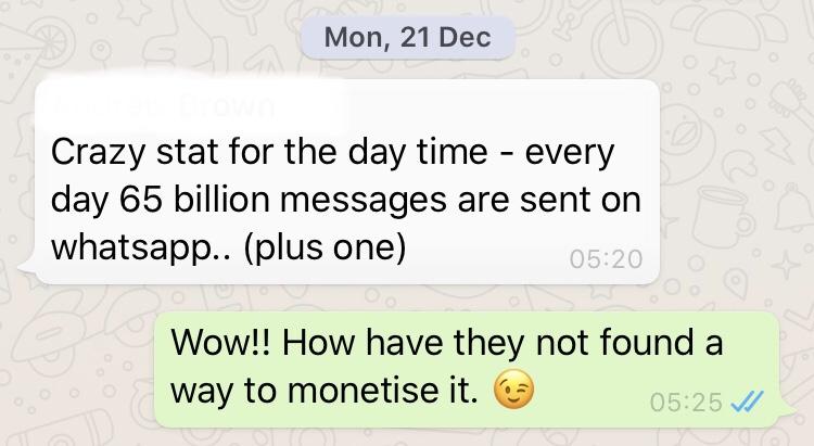 Fuck whatsapp
